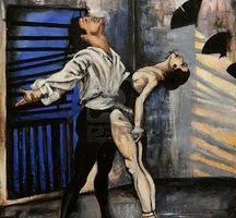 Man-woman-ballet