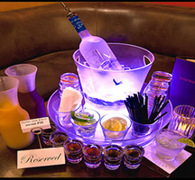Bottle-service-table
