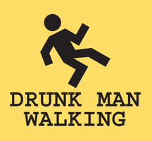 Open-bar-drunk-man-walking